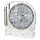 TEKNOS テクノス many functions charge-type 25cm feather electric fan BKL-R30