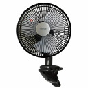 TEKNOS technos 23 cm clip fan black CI-235 one size larger 23 cm clip fan