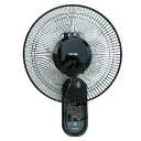 TEKNOS technos 30 cm wall-mounted fan remote control with (black) KI-W301RK