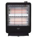 Yamazen YAMAZEN electric heater 800 W DS-J08 (B) charcoal black