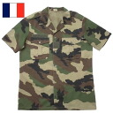 French military Chad shirt USED CCE short sleeves