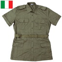 Italian military safari shirt USED