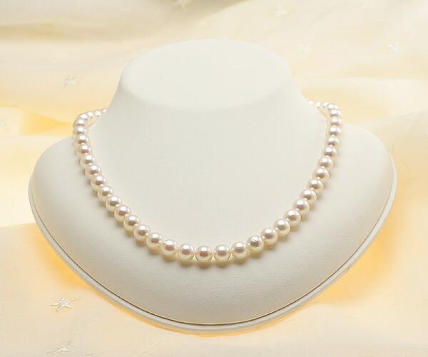 【真珠の本場 伊勢志摩よりお届け】7.5-8.0mm華やかなピンク♪あこや本真珠ネックレス・ピアスセット【nc0588】