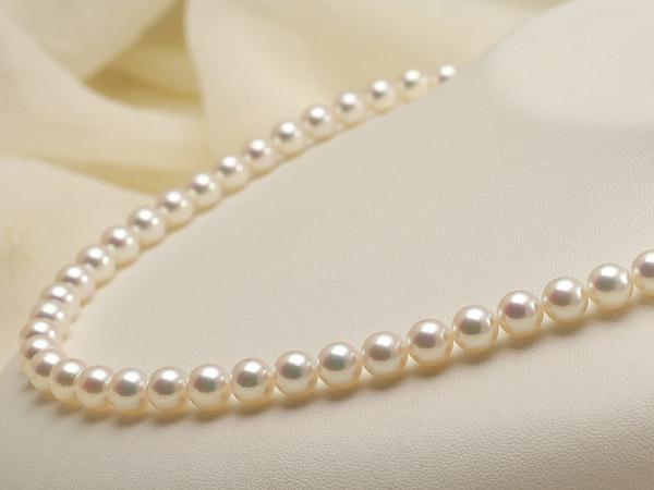 【真珠の本場 伊勢志摩よりお届け】華やかピンクが美しい♪7.0〜7.5mmあこや本真珠花珠パールネックレス(鑑別書付)【392177】
