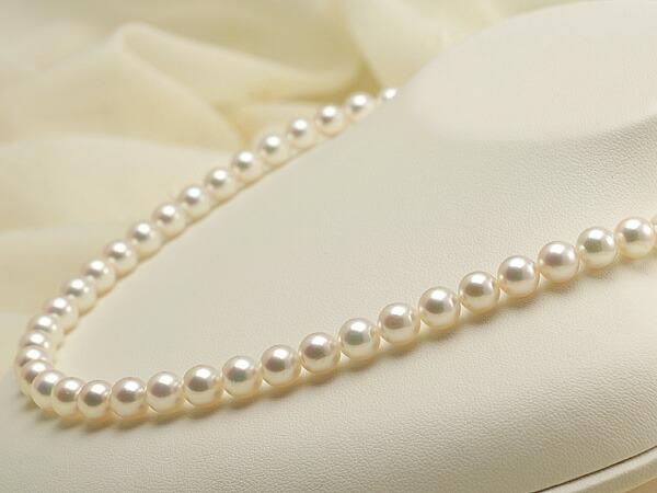 【真珠の本場 伊勢志摩よりお届け】淡いピンクの上品な輝き♪7.0〜7.5mmあこや本真珠花珠ネックレス・ピアスセット(鑑別書付)【486687】