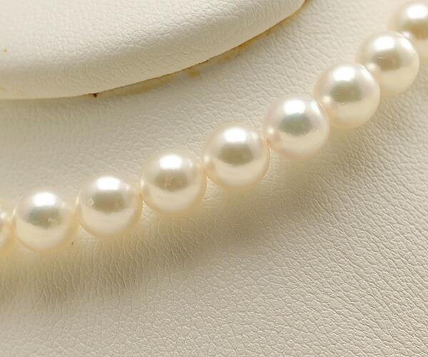 【真珠の本場 伊勢志摩よりお届け】淡いピンクグリーンの上品カラー♪5.5-6.0mmあこや本真珠パールブレスレット【bl0011】