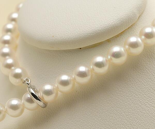 【真珠の本場 伊勢志摩よりお届け】淡いピンクグリーンが美しい♪あこや本真珠パールブレスレット【bl0042】