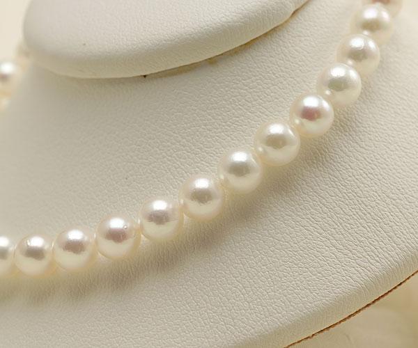 【真珠の本場 伊勢志摩よりお届け】淡い優しい色目♪5.5-6.0mmあこや本真珠パールブレスレット【bl0066】