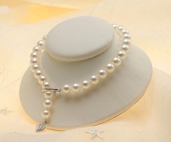 【真珠の本場 伊勢志摩よりお届け】ほのかな優しい色目♪6.0mmあこや本真珠パールブレスレット【bl0072】