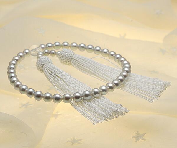 【真珠の本場 伊勢志摩よりお届け】7.0〜7.5mmあこや本真珠念珠