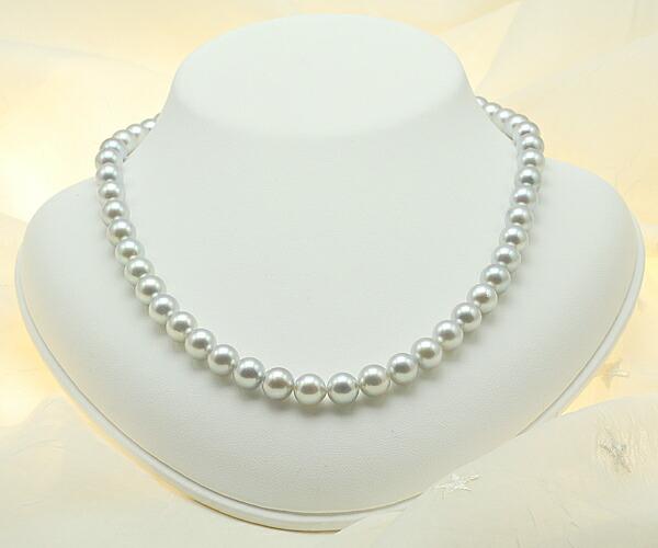 【真珠の本場 伊勢志摩よりお届け】8.0〜8.5mm あこや本真珠ネックレスセット【n0058】
