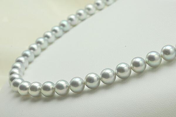 【真珠の本場 伊勢志摩よりお届け】7.5〜8.0mm あこや本真珠ネックレスセット【n0775】