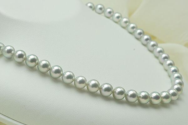 【真珠の本場 伊勢志摩よりお届け】8.0〜8.5mm あこや本真珠ネックレスセット【n0778】