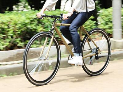700C クロスバイク 「700Cアルミクロスバイク7段変速 -wood- Atmung」 シマノ 7段変速 700×25Cタイヤ スポーツサイクル 自転車 街乗り 【送料無料】 木目調フレームの7段変速クロスバイクを好評販売中!!