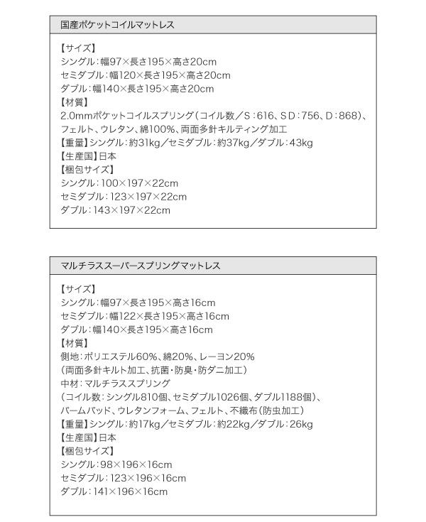 棚・コンセント付きフロアベッド【Skyline】スカイライン23