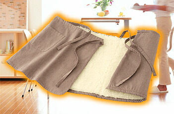 Sofwool ウエストウォーマー 巻きスカートタイプイメージ