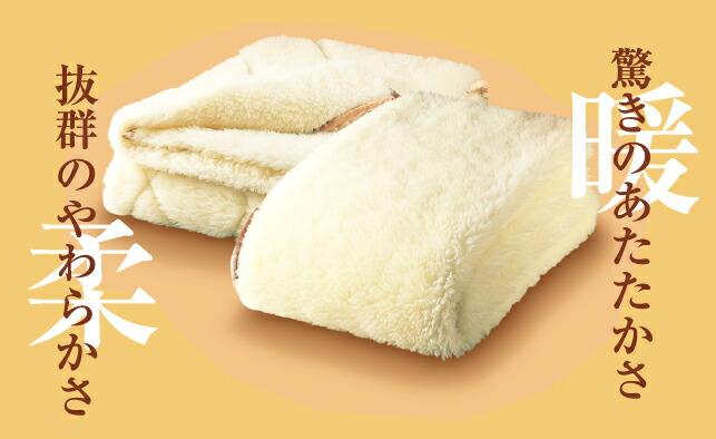 高級シルク毛布(2枚組)特長