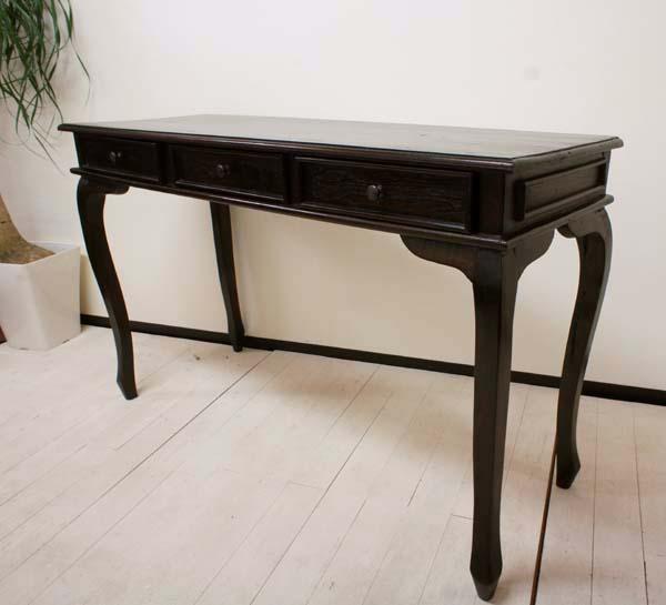 【楽天市場】アジアン家具 バリ ♪猫足コンソールテーブル 3引き出し♪ 【送料無料】【yayapapus