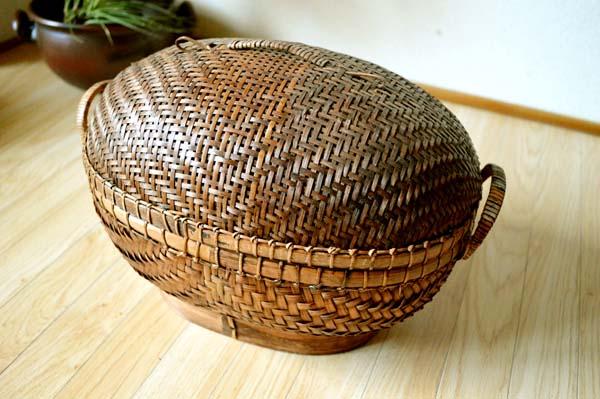 巴厘岛亚洲商品 巴厘岛椭圆形篮子 (l 大小) 篮篮存储箱存储框竹圣诞