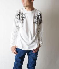 【禅】はんなり櫻 ぼかし染め グラデーション 半袖シャツ