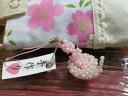 Handmade beads - strap ◆◆ snake ◆◆ pink