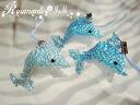 Handmade beaded - strap ◆ ◆ Dolphin ◆ ◆
