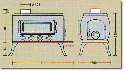能利用取暖炉st-206