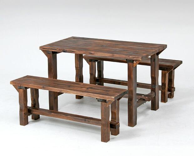 材 ガーデンテーブルセット ...