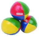 DUNCAN and Duncan--juggling balls ( Western beanbag )--set of 3