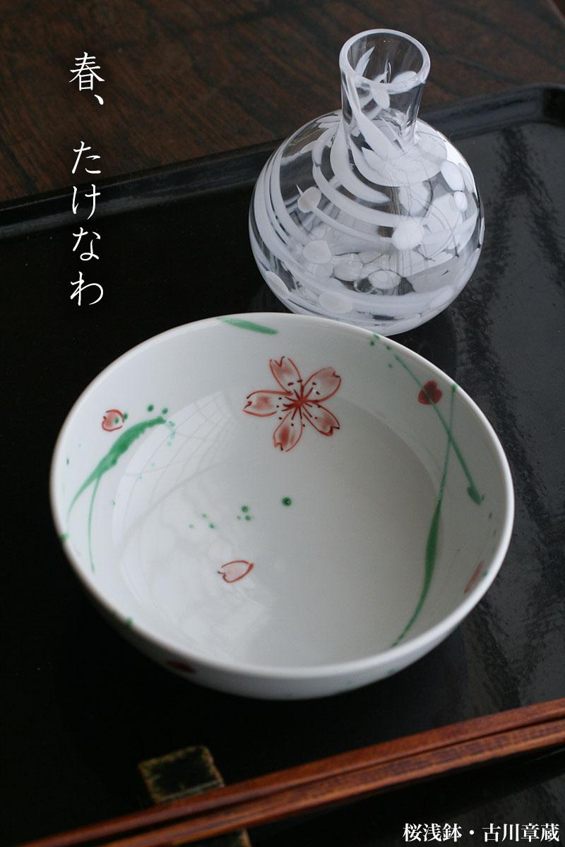 桜浅鉢・古川章蔵