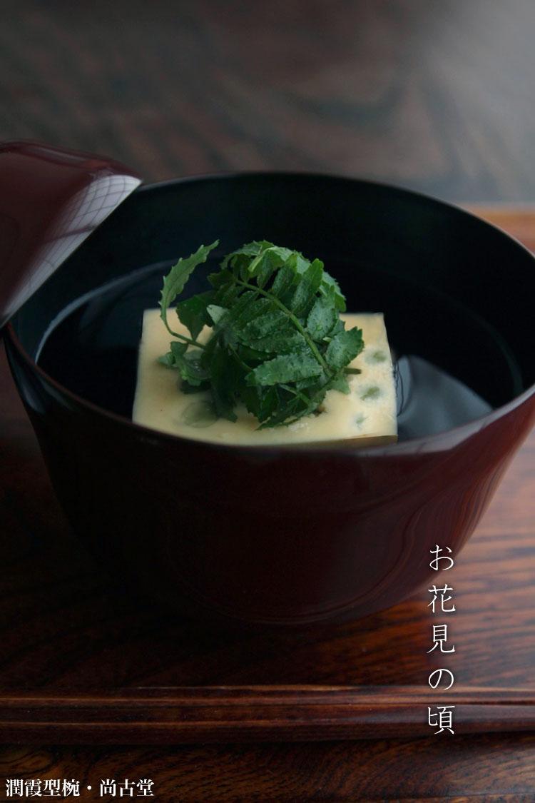 汁椀・お椀|潤霞型椀・尚古堂