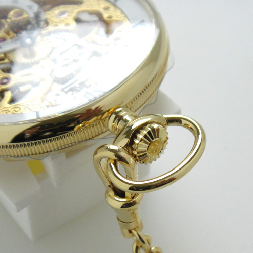 how to open the crown of a watch