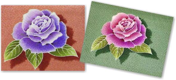 纸巾染画制作步骤