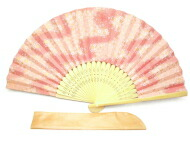 Yuzen Japanese paper folding fan