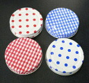 Cap-MS-70 color (checks and polka dots)