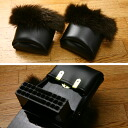 ◆ original brand dayflower ◆ with geta clogs cover fluffy fur wintering (claw leather)