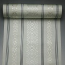 Pure silk Hakata-Ori textile plain presenting eight tsumugi three pale gray ( 3-No.5 )