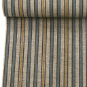 A kimono stripe (gray beige system) of the Enshu cotton pongee Enshu cotton (No. 112)