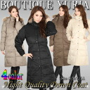 Price down ↓ super long-length リアルファーフード with luxury down coat unbalancing coat /S/M/L/LL cold: black/khaki/Mocha/beige