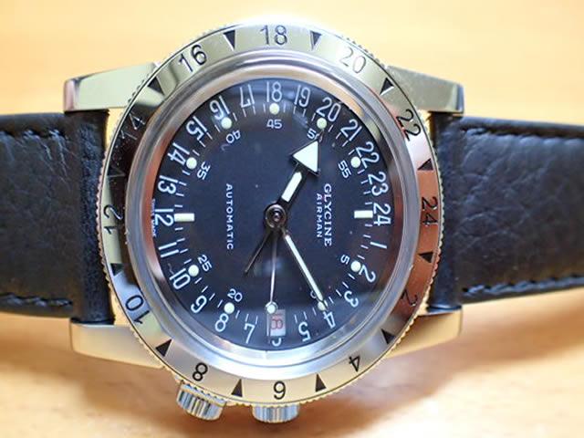グライシン GLYCINE 腕時計