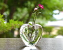 "Glass vase Glass Art Vase( heart) writer ""Mitsuhiro Hara"""
