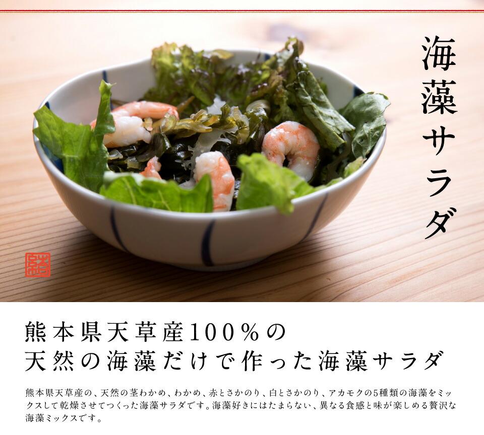 天草産海藻サラダ