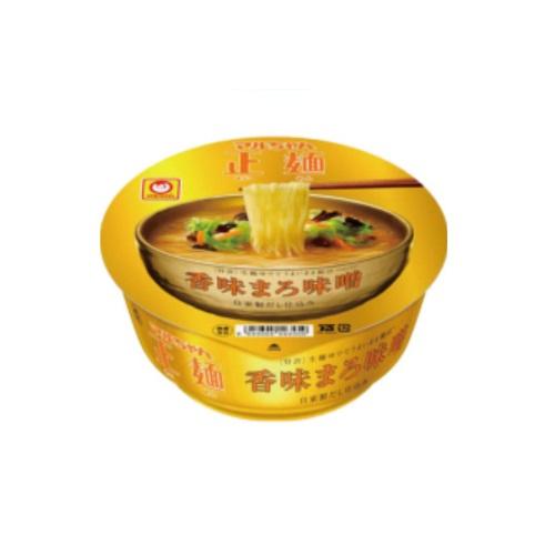 まとめ買い2ケースセットマルちゃん正麺カップ香味まろ味噌1ケース113g×12食入東洋水産