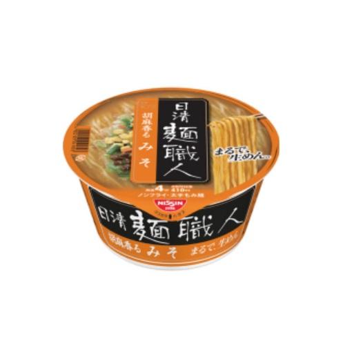 麺職人みそ1ケース96g×12食入日清食品