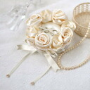 ◎Ring pillow champagne gold /H431-121 of Hamanaka Rose
