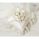◎Ring pillow (square) /H431-125 [wedding / accessory / handicraft kit] of Hamanaka wedding Rose