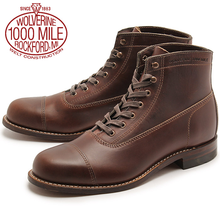 First introduced in , the Wolverine Original Mile Boot was a tell-tale work boot built to last a lifetime. Now, thanks to the help of workman extraordinaire Mike Rowe, Wolverine has successfully rehashed a limited edition version of the Mile Boot in honor of the mikeroweWORKS Foundation.