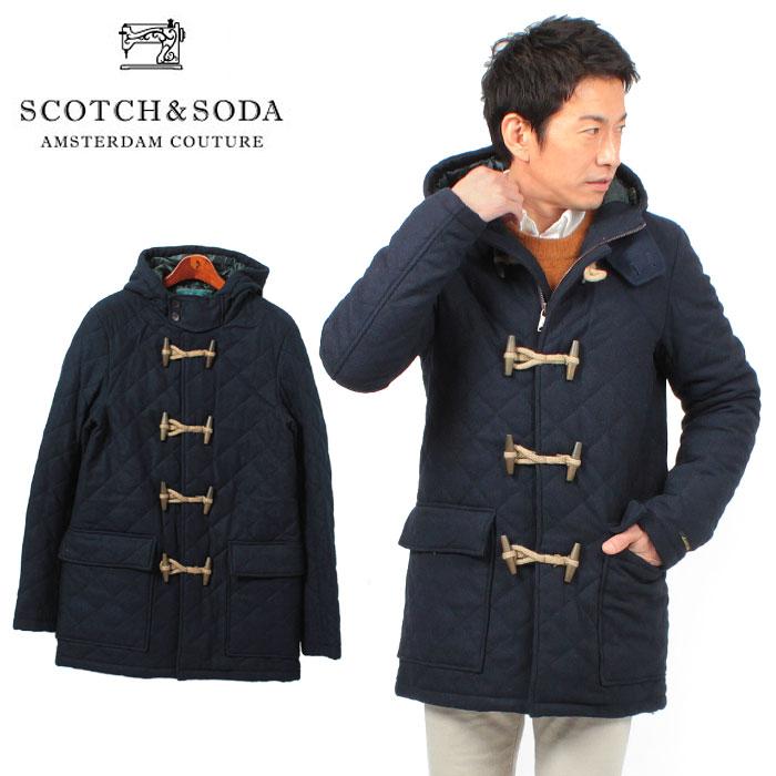 Navy Wool Duffle Coat   Down Coat