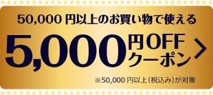 5000�~OFF���N�[�|��