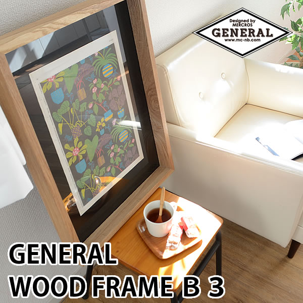 GENERAL WOOD FRAME B3